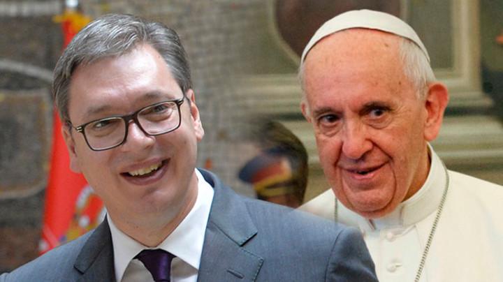 PREDSEDNIK SRBIJE U VATIKANU! Počeo sastanak Vučića i pape - Glavna temamogućnosti razrešenja kosovskog čvora
