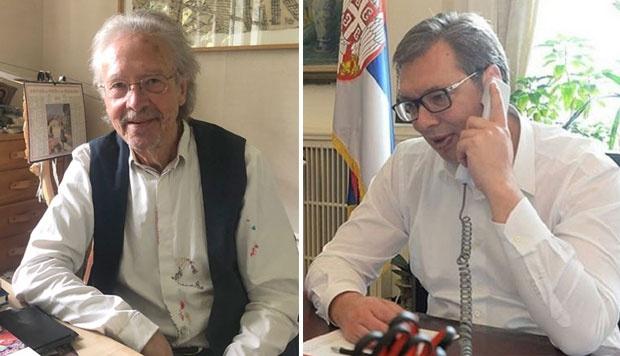 PREDSEDNIK TELEFONOM RAZGOVARAO SA NOBELOVCEM: Vučić čestitao Handkeu i pozvao ga u Srbiju