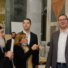 Vučić sa Irinejom u obilasku radova na Hramu Svetog Save: Ne postoje reči kojima se može opisati ova lepota (FOTO/VIDEO)