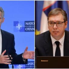 PREDSEDNIK VUČIĆ SUTRA U BRISELU: Sastaće se sa generalnim sekretarom NATO-a Jensom Stoltenbergom