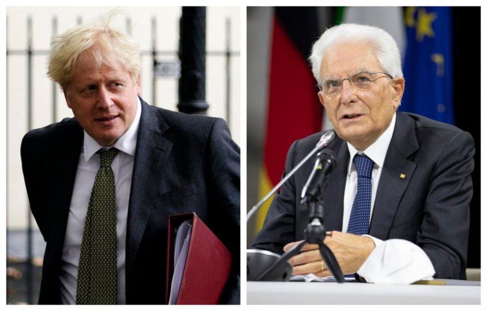PREDSEDNIKA ITALIJE RAZLJUTILA DŽONSONOVA IZJAVA: Nije Britancima sloboda važnija nego Italijanima!