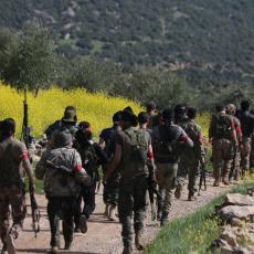 PREKALJENI U SIRIJSKOJ VATRI: Oštra poput sablje, na Jermene juriša specijalna turska brigada od 1.200 komandosa!