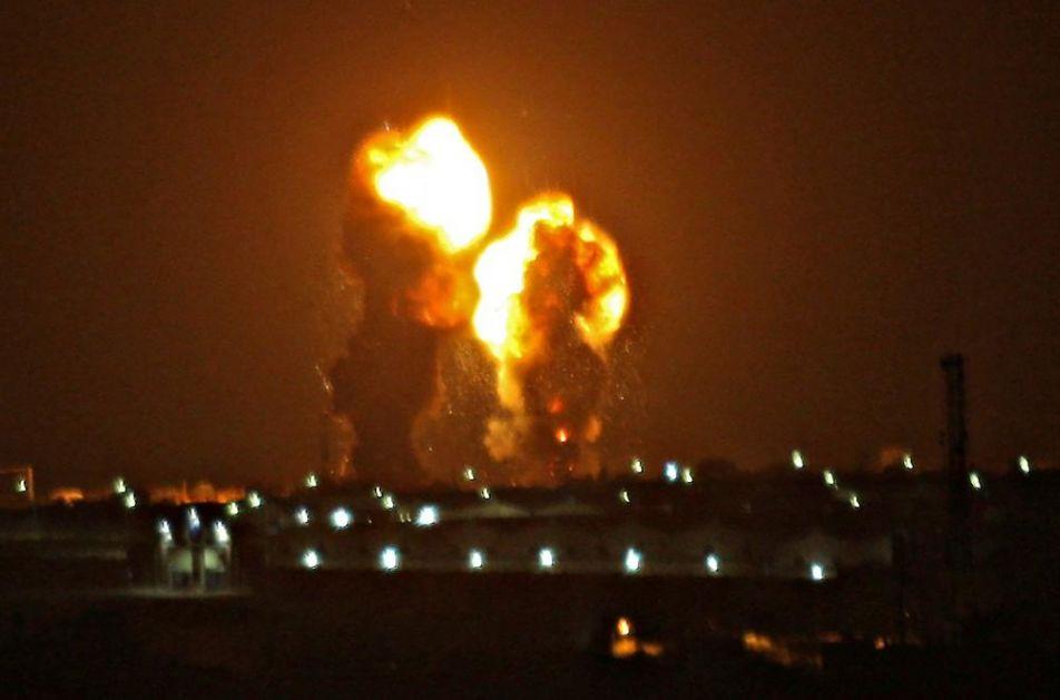 PREKINUTO PRIMIRJE: Izrael izveo vazdušne napade nakon raketiranja iz Gaze! (VIDEO)