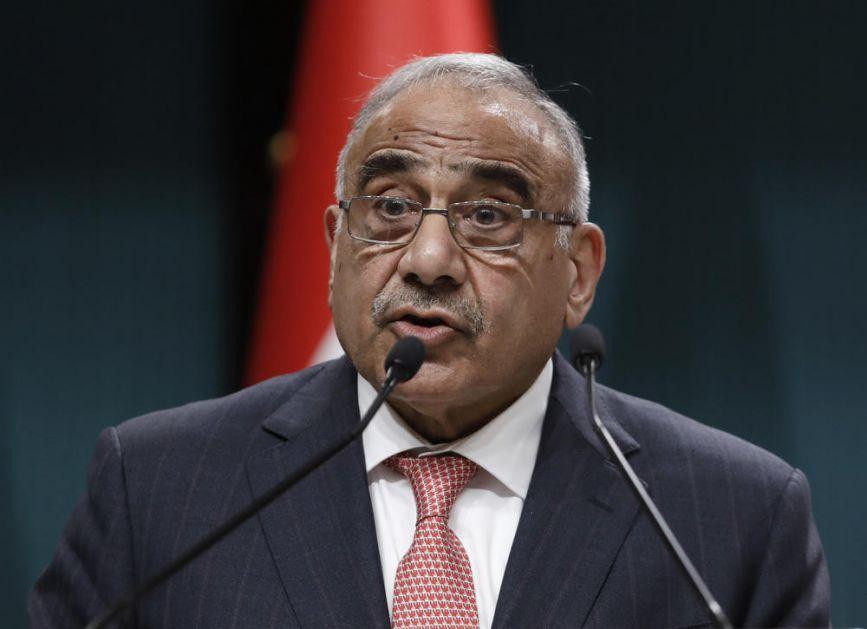PREMIJER IRAKA I POMPEO RAZGOVARALI TELEFONOM: Mahdi pozvao SAD da nađu način za povlačenje vojske!