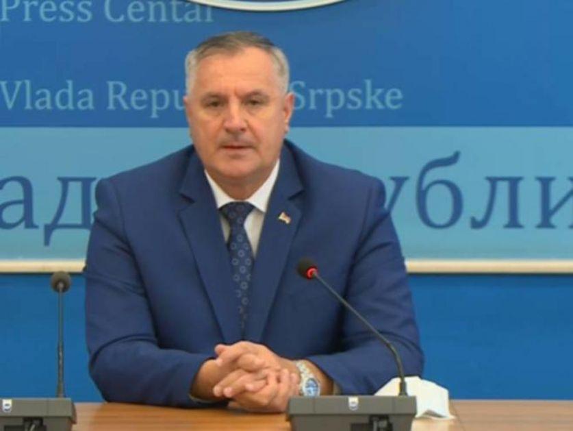 PREMIJER REPUBLIKE SRPSKE ZARAŽEN KORONOM: Nakon pozitivnog testa Višković otkazao sve sastanke!
