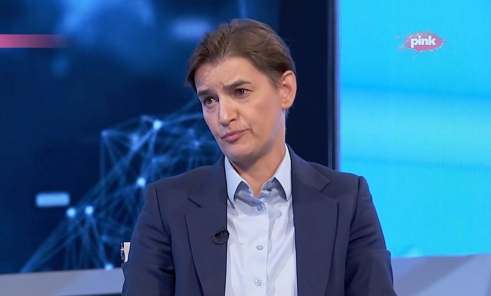 PREMIJERKA BRNABIĆ PORUČILA: Nije u redu da se opaka bolest koristi u političke svrhe