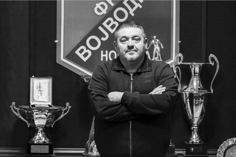 PREMINUO MILAN KOSANOVIĆ: Sportski direktor Vojvodine izgubio bitku sa korona virusom!