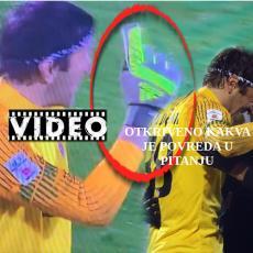 PRETI: Štoper Zvezde POVREDIO Stojkovića i IZBACIO ga iz igre, a onda HAOS! Evo ŠTA mu govori i KAKVA je povreda u pitanju (VIDEO)