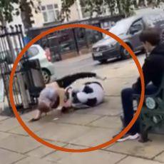 PRETIO MU DA ĆE GA ZAKLATI IZ ČISTA MIRA - BIZARNA TUČA U PARKU: Pogledajte kako se profesionalni borac rešio napadača (VIDEO)