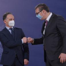 PRIJATELJSKI ODNOS I DOBRA SARADNJA: Ministarstvo spoljnih poslova Nemačke oglasilo se posle sastanka sa Vučićem (FOTO)