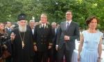 PRIJEM POVODOM DANA RUSIJE - Vučić: Odnosi Srbije i Rusije danas najčistiji