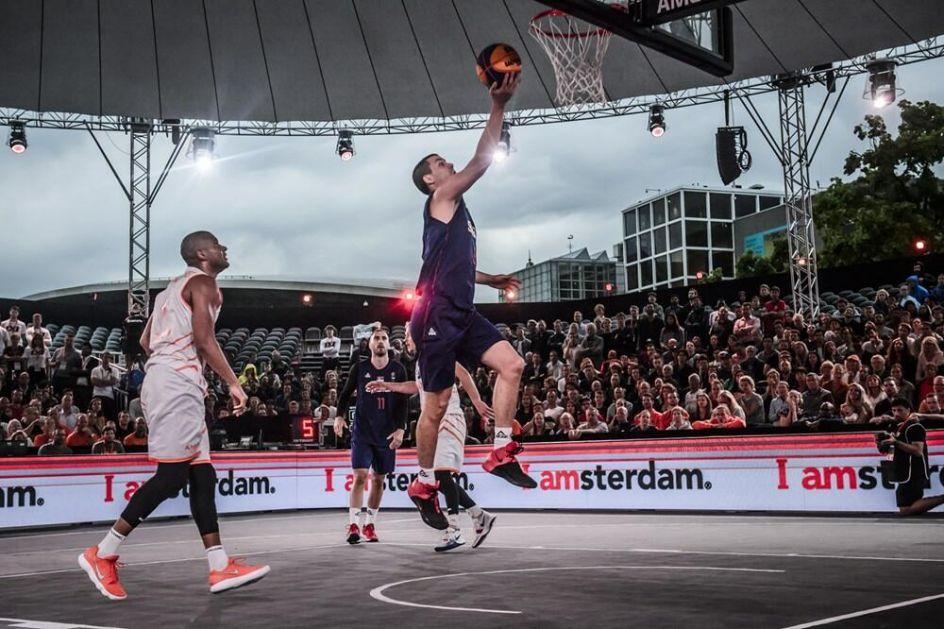 PRIPREME U HOLANDIJI: Muška 3X3 reprezentacija Srbije na turniru u Amsterdamu