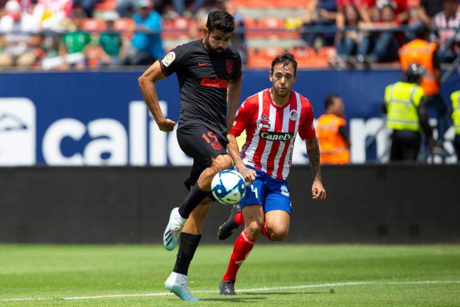 PROBLEM ZA ATLETIKO: Povređen Dijego Kosta, propušta početak sezone