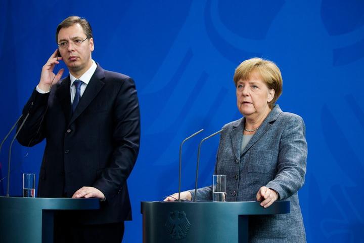 PROCURELE INFORMACIJE: Vučić nije poslušao Merkelovu! NEMAČKA KANCELARKA POČINJE OSVETU