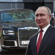 PRODAJE SE PUTINOVA LIMUZINA: Evo koliko bi vas koštala kupovina moćne ruske zveri! (VIDEO)