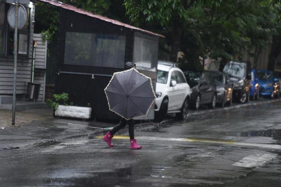 PROGNOZA ZA UTORAK: Meteorolozi savetuju da nigde ne idete bez kišobrana!