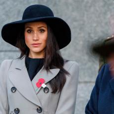 PRONAŠLA NAČIN DA SE OPROSTI: Megan Markl princu Filipu OSTAVILA ručno ISPISANU PORUKU na vencu