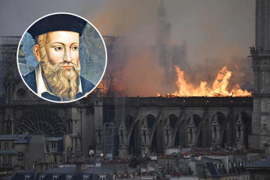 PROROK JE POGODIO POŽAR NOTR DAMA: Nostradamus predvideo katastrofu TAČNO U DAN! Jezive stvari slede odmah posle nesreće! (VIDEO)