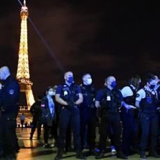 PROTESTI U FRANCUSKOJ: Demonstranti koji su protiv vakcine i novih mera sukobili su se sa policijom
