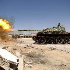 PROTURSKE SNAGE U LIBIJI KREĆU KA SIRTU U NAMERI DA OSVOJE NAFTNA POLJA: Egipat oštro zapretio da će intervenisati