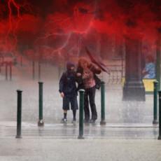 PROVALA OBLAKA U BEOGRADU! Jaka oluja zahvatila je glavni grad, ne izlazite nigde bez kišobrana! (VIDEO)