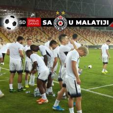 PRŠTALO KAO DA JE FINALE: Pogledajte kako je izgledao poslednji trening Partizana (VIDEO)