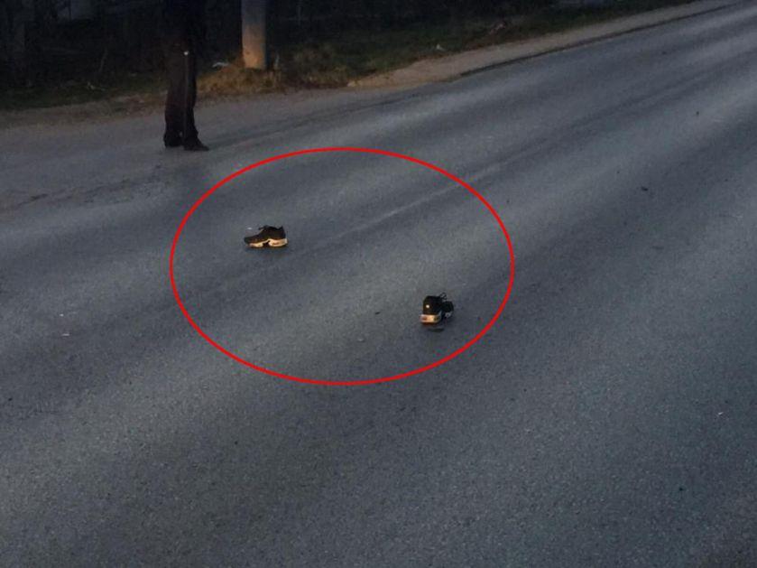 PRVE FOTOGRAFIJE TEŠKE SAOBRAĆAJKE U GRAČANICI Albanac pregazio srpskog dečaka (12) pa pobegao!