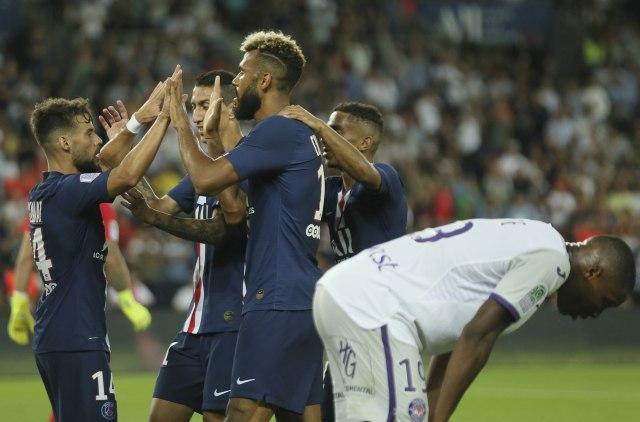 PSŽ uspeo da otvori Tuluz, Monako ispustio pobedu zbog crvenog kartona