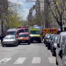 PUCNJAVA ISPRED BOLNICE U PARIZU: Napadač otvorio vatru, usmrtio jednu osobu, ima i povređenih (VIDEO)