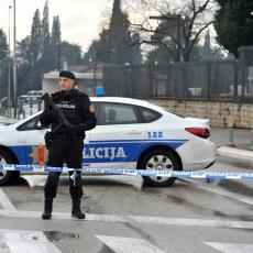 PUCNJAVA U CENTRU PODGORICE: Muškarac ranjen u nogu, napadač uhapšen