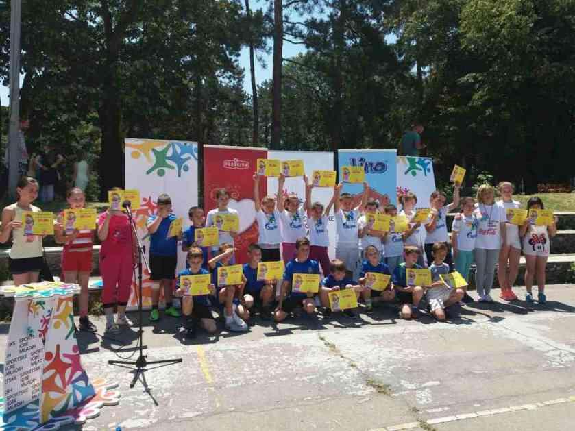 PUN POGODAK: Sportske igre mladih osvojile Srbiju