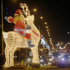 Beograđani dočekali Srpsku novu godinu UZ VATROMET I DOBRO RASPOLOŽENJE