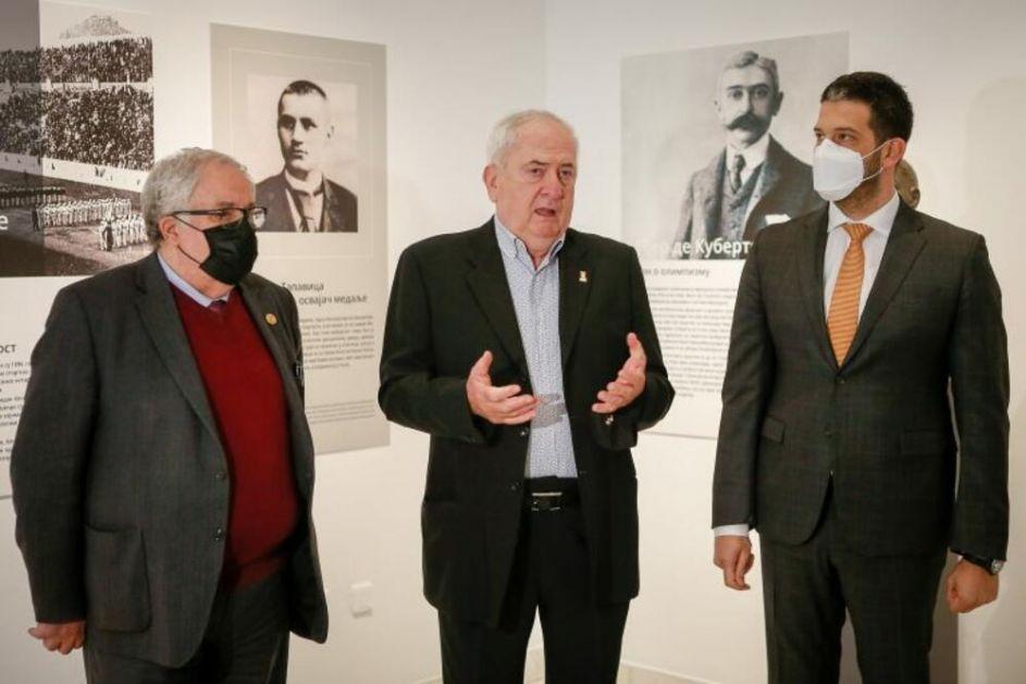 PUT PRAVIH VREDNOSTI: Otvorena izložba o istoriji olimpijzma u Srbiji!