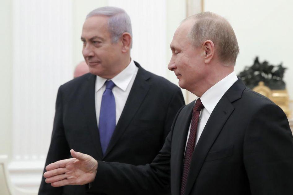 PUTIN I NETANIJAHU IMAJU O ČEMU DA PRIČAJU: Rusija osudila plan izraelskog premijera da anektira dolinu Jordana