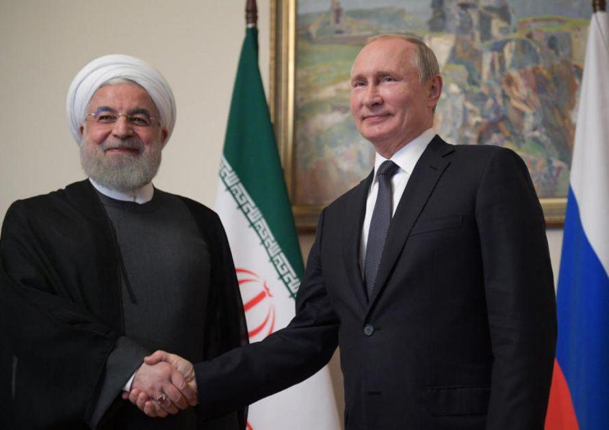 PUTIN I ROHANI O NUKLEARNOM PROGRAMU: Evo šta su dogovorili predsednici Rusije i Irana