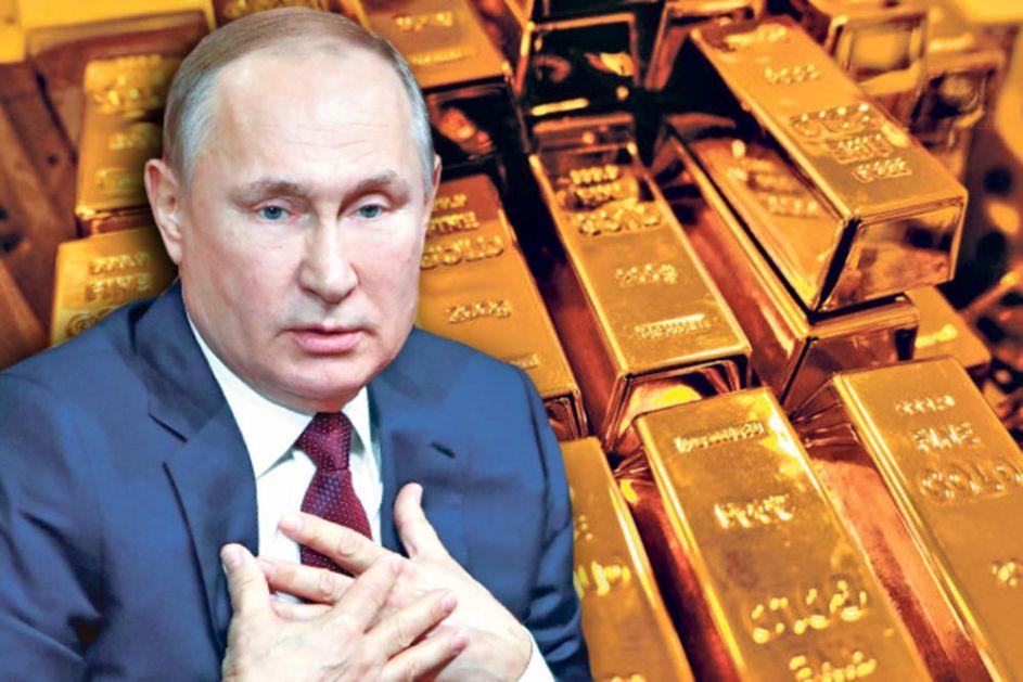 PUTIN NA KORAK DO KRAHA AMERIKE: SAD dolar čuvaju tuđim zlatom, ako Rusija podrži zemlje vlasnice to je kraj! (VIDEO)