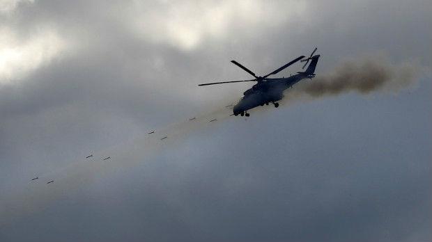 Pad vojnog helikoptera u Krasnodaru, poginule dve osobe
