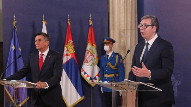 Pahor: Širenje EU na Zapadni Balkan je geopolitička hitnost