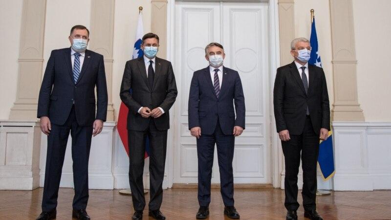 Pahor u Sarajevu: Slovenija donira vakcine BiH