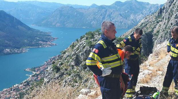 Pala Belgijanka niz strminu, spasavanje trajalo pet sati
