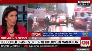 Pao helikopter u Njujorku, najmanje jedna osoba poginula