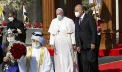 Papa Franja doputovao u trodnevnu posetu Iraku (FOTO)