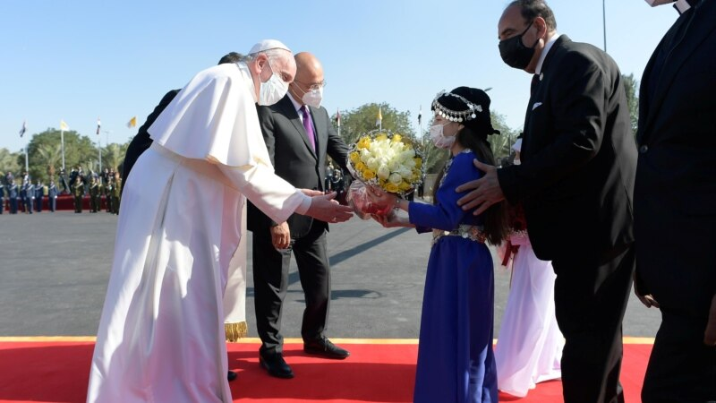 Papa Franja u Iraku sa šiitskim liderom Alijem al Sistanijem