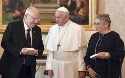 Papa i predsednik Izraela razgovarali o pregovorima Izraela i Palestinaca