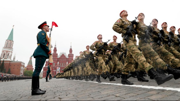 Parada povodom Dana pobede 24. juna