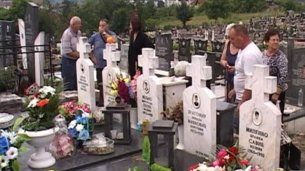 Parastos za ubijene Srbe u bratunačkim i srebreničkim selima