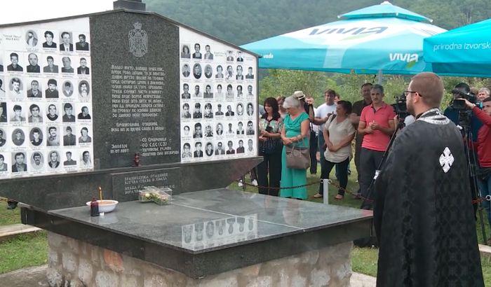 Parastos za ubijene u selima oko Bratunca i Srebrenice