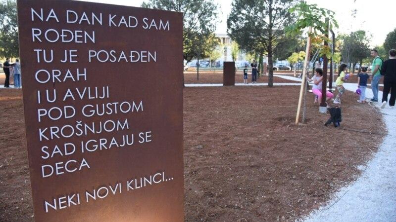 Park i 68 sadnica za Đorđa Balaševića u Podgorici