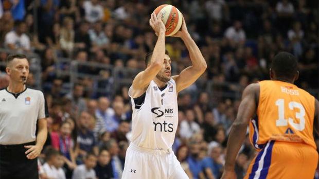 Partizan bez Trinkijerija pobedio u Baru, vratio se Tomas