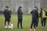 Partizan odradio trening po pljusku, treća provera protiv Ukrajinaca